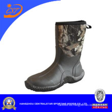 Botas de goma antideslizantes de moda de la caza de Camo