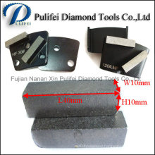 Concrete Floor Surface Grinding Diamond Grinding Segment for Metal Pad