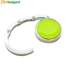 Customized Zinc Alloy Round Bag Hanger