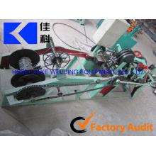 Einzelne Stacheldrahtmaschine / galvanisierter Stacheldraht, der Maschine herstellt (Herstellung)