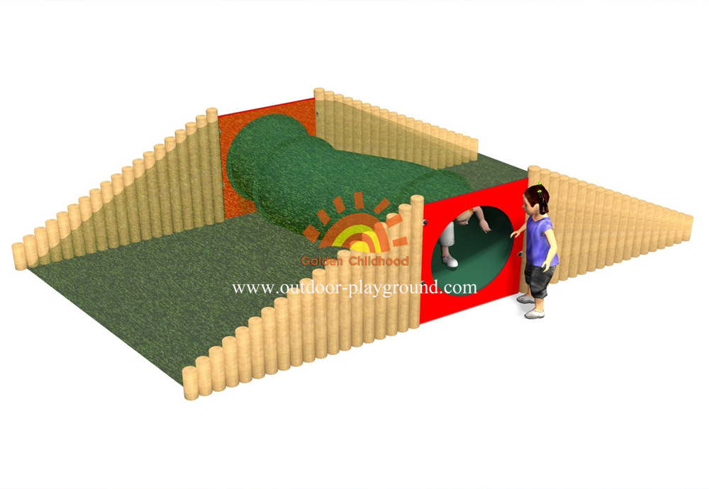 toddler tunnel park playground equipment for children
