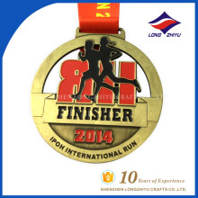 Medalla de Maratón de Metal Personalizada