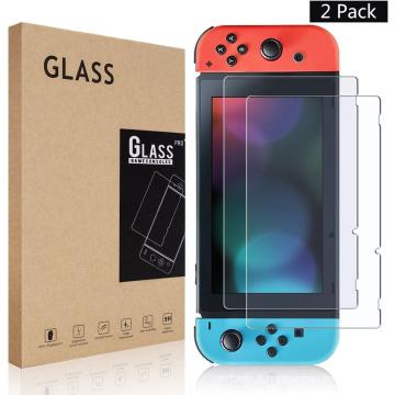 Protecteur de film de verre trempé de 9H Premium pour Nintendo Switch NS Film de protection en verre