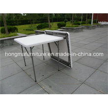 Portable Square Table for Outdoor Use