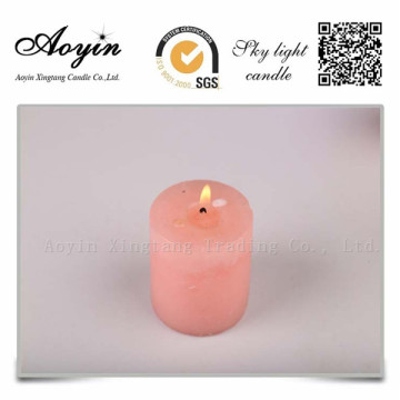 Verschillende grootte Multi-coloured Smokeless Pillar Candle