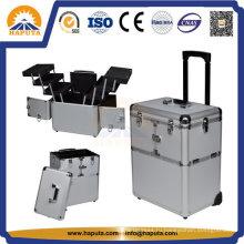Алюминиевый косметический футляр для косметики (HB-3223)