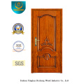 European Style Security Door with Carving (b-6003)