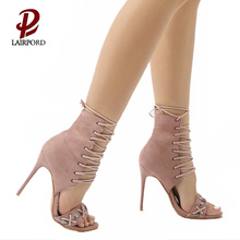 women summer high new style sandals shoe