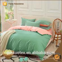 Супер дешевый твердый цвет высокого качества мягкие дети дети постельные принадлежности наборы оптовые