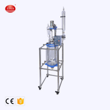 Lab Vacuum Distillation small Double Layer Glass Reactor
