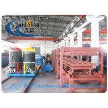 12 meters discontinuous pu sandwich panel machine/ polyurethane sandwich panel machine