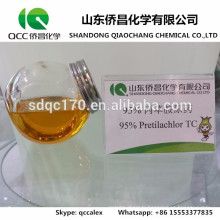 Production directe d'usine Agrochimique / Herbicide Pretilachlor 95% TC 30% EC 50% CE