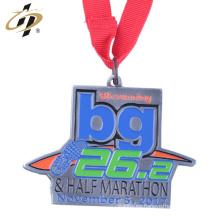 Maratón de encargo barato del metal que funciona con las medallas de China