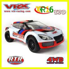 Venda quente escala 1/16 4WD brushless elétrico do rc modelo de carro