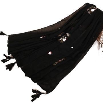 TINGYU Atacado Muçulmano Malásia Mulheres Senhora Menina Multi Color Hijab Cachecol