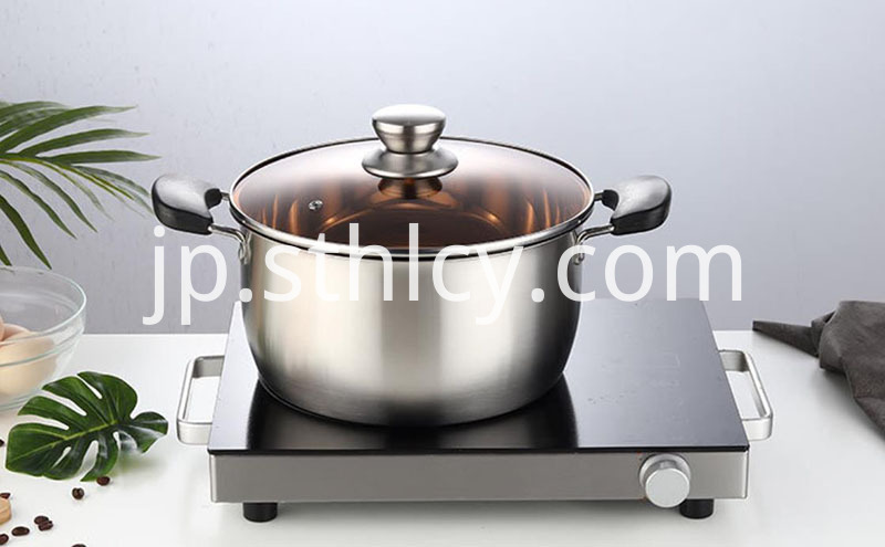 Healthy cookware pot