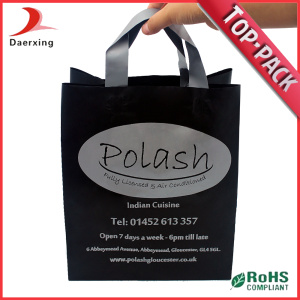 Sac d'emballage en plastique Poly Handle Plastic