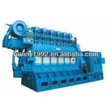1000kW générateur d'huile lourde Guangchai fixe
