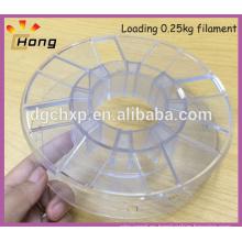 carretes de plástico vacíos para filamento de impresora 3d