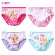 Cuento de hadas Carton Princesa Printed Panties Lovely Childern Breathable Soft Underwear