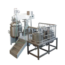 Production Mixing Equipment for Shampoo Heating Mixing Tank