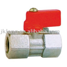 J2012 Plastic handle forged brass mini ball valve