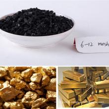 2017 vente chaude top qualité 5-10mesh noix de coco charbon actif pour l'exploitation minière d'or
