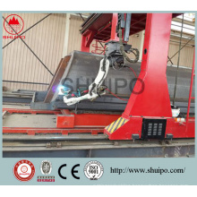 High efficiency and energy saving of the dump truck automatic welding robot