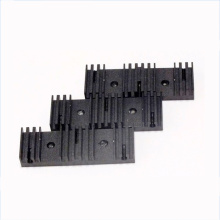 Aluminium heat sink part cnc machining services