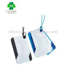 2012 Customized fancy pvc Luggage tag