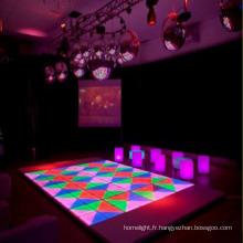 RGB Interactive LED piste de danse
