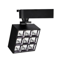 Ajustable square Surface mounted track lights