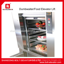200kg dumbwaiter Dumbwaiter Aufzug Lebensmittel Aufzug