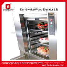 200kg dumbwaiter Dumbwaiter Ascenseur élévateur de nourriture