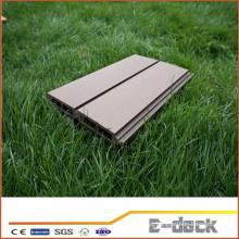 Revestimento recuperado ao ar livre wpc decking interligando composto telhas placa do terraço