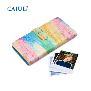 80pcs Instax Square Film Album photo PU