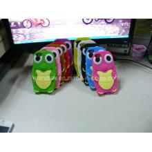 Hot Cute tartaruga celular capa de Silicone para iPhone 5