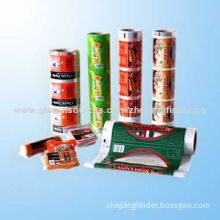 Plastic packaging bag roll film for coffee, tea, candy, snack, dried food, grilled chicken, beef