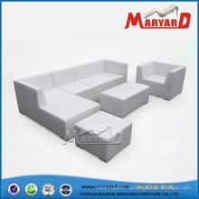 Сад кожаный диван открытый кожаный диван