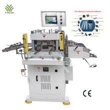 Machine de découpe à plat de produit électronique de précision