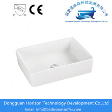 White color acrylic bathroom wash basin
