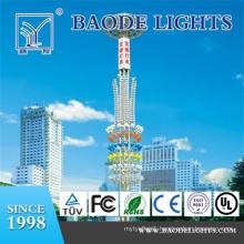 Polygonal 18m High Mast Lighting Tower (BDG18)