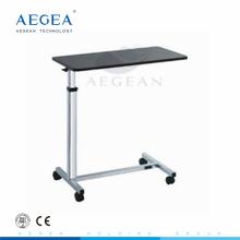 AG-OBT014 Krankenhaus beweglichen medizinischen Holz Krankenhaus Nachttisch
