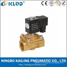 Válvula de solenoide de la serie / válvula de solenoide de actuación de la manera de PU220 / PU225 / 2 / válvula de solenoide del agua IP65