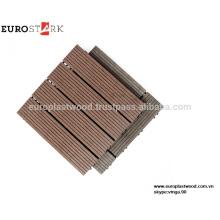Лучшие качества WPC Сделай сам плитка пола, Размер 300x300x25MM, полые или сплошные, пластиковая основа, не токсичен, дешевые цены, оптовые заказа