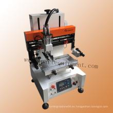 Máquina de impresión plana de la pantalla de la etiqueta del estilo de la tabla China