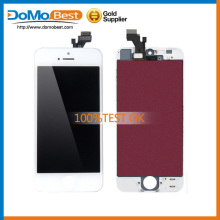 Original Grade AAA+ Cheap price front glass,Camera Ring and Dust Mesh for iPhone 5C lcd screen