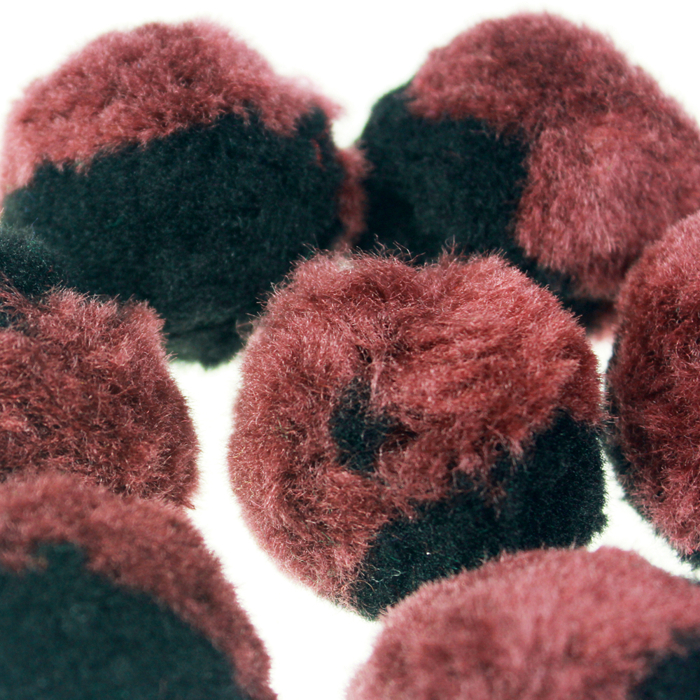 Brown Acrylic Pompom for science lessons