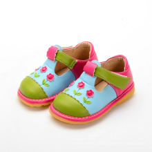 Girl Baby Shoes T Strap Shoe Squeaky
