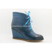 Nueva Confort Sexy Tacones Alto Lady Wedge Ankle Boots